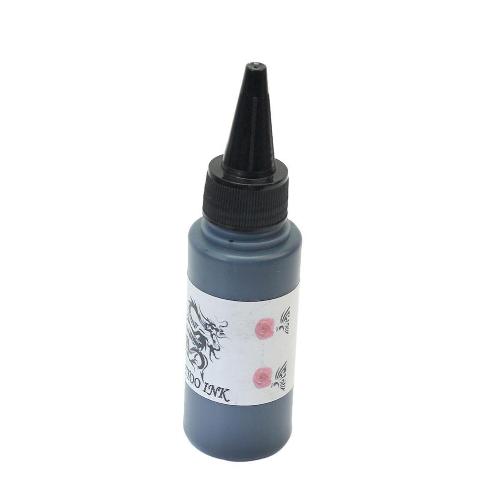 13*3*3cm 60 ml Black Tattoo Ink Pigment Lining Shading Sterilized Body Beauty Supplies Tattoo Machine Body Art Tools(China (Mainland))