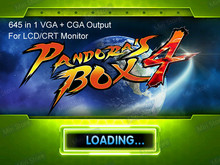 645 in 1 Pandora's box 4 VGA / CGA output for LCD / CRT jamma arcade cabinet machine game board 645 games multigame card(China (Mainland))
