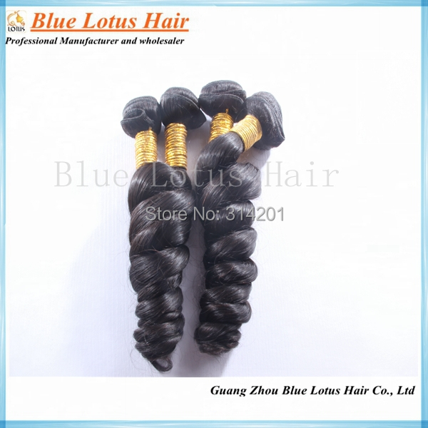 Grade 6A Brazilian hair loose wave , 12 inch 30 stock - Blue Lotus Hair store