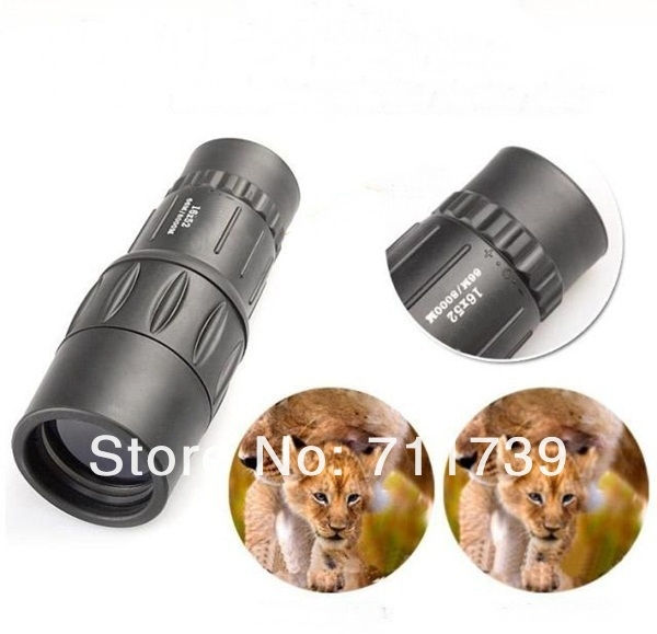 High quality Free Shipping Bushnell 16X52 66M/8000M  Monocular Telescope Sports Concert telescope<br><br>Aliexpress