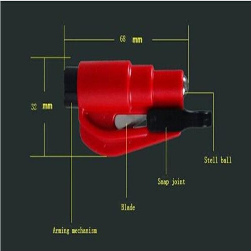2015New автомобиль автоматический Mini экстренная молоток ремень резак окно выключатель побег инструмент