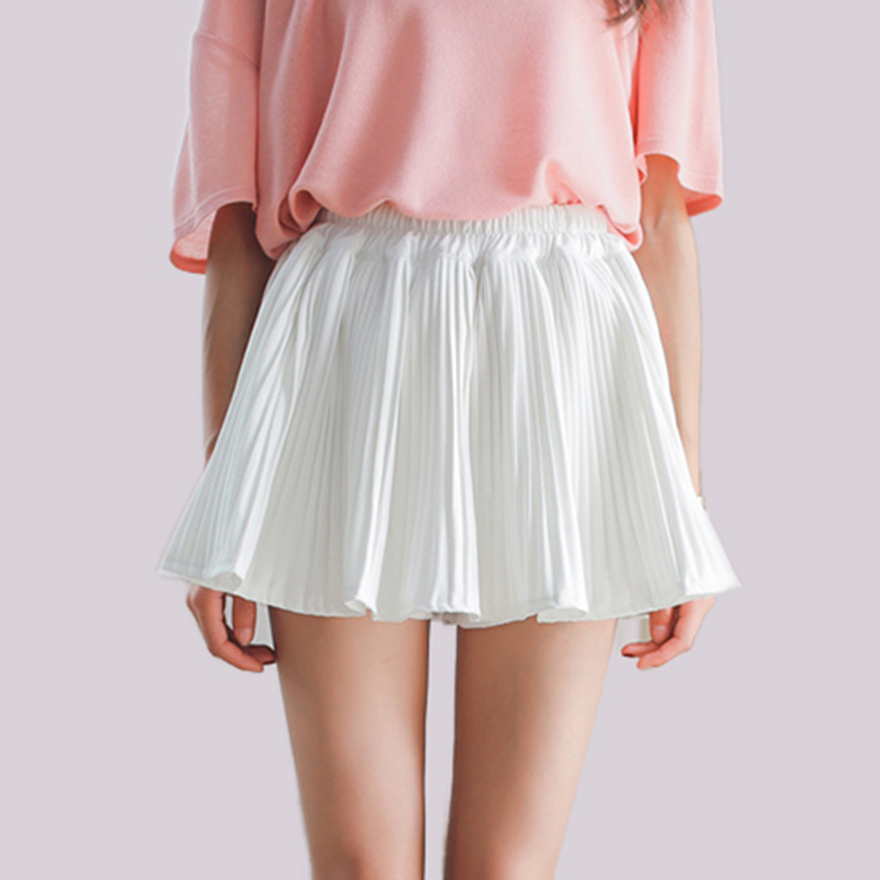 Cool Summer 4 color Cute A Line Pleated Skirt Ladies Sexy Mini Skater Skirts Women Jupe femme Preppy Style(China (Mainland))