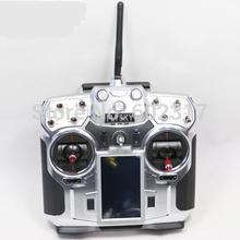 FS FlySky FS-i10 2.4g Digital Proportional 10 Channel rc Transmitter and Receiver System 3.55″ LED Screen remote control