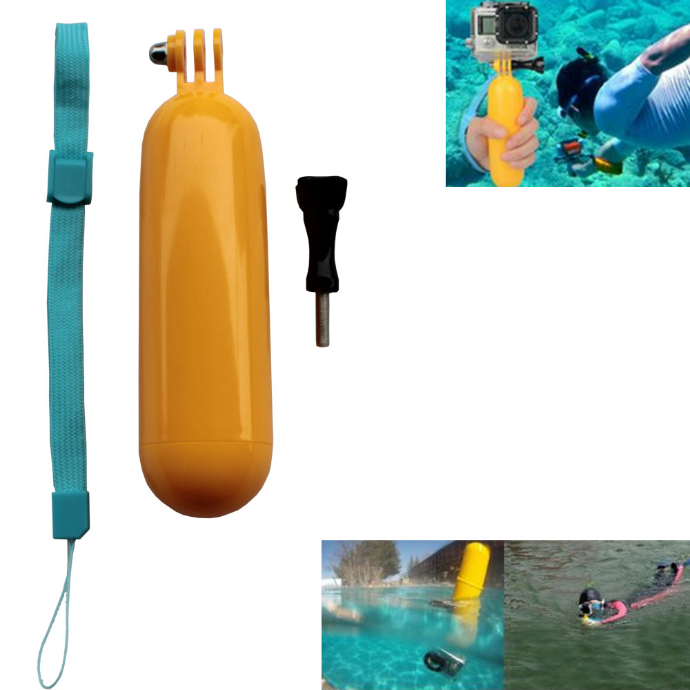 Gopro Accessories Monopod Bobber Floating for Go Pro Hero4 Hero 1234 Sj8000 SJCAM WIFI SJ6000 Sj5000