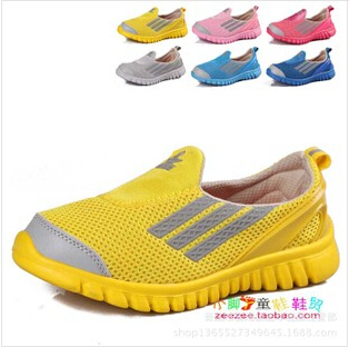 FRee shipping Detonation specials running shoes, the summer children mesh breathable shoes, children's sneakers(China (Mainland))