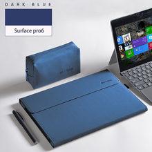 2019 nueva funda para Tablet portátil para Microsoft Surface Go Pro 6 soporte para Surface Pro 6 5 4 funda bolso para portátil sólido para hombre y mujer(China)