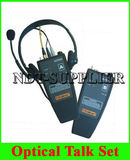 New AOT500 Optical Talk Set Two Parts Communication 1310&1550nm w/ Full Duplex Communication(China (Mainland))