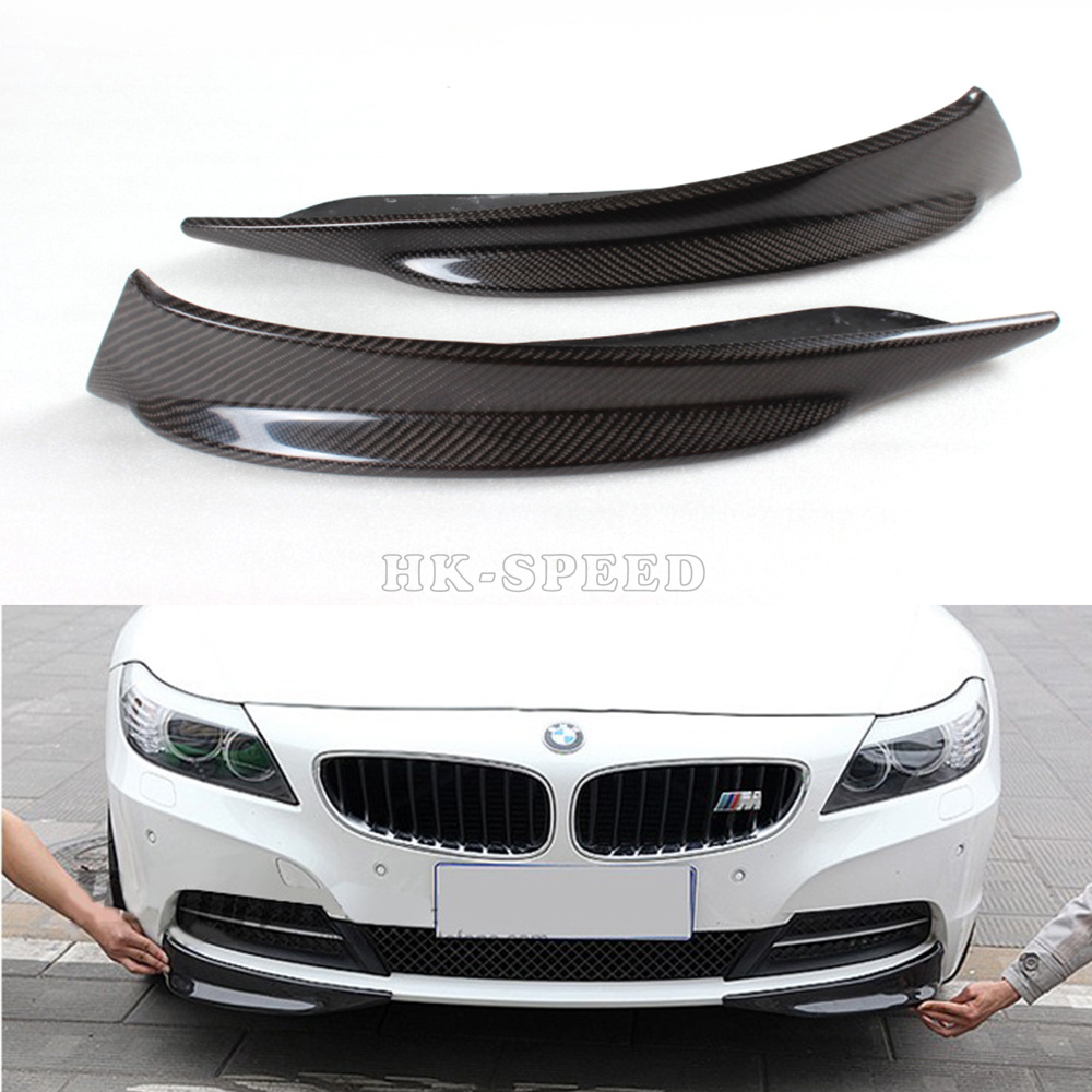 2009-2013 E89 Z4 carbon Fiber Car Aprons ,Front Bumper Splitter Flap Cupwings BMW (Fits 09-13 ) - HSPEED KSLINE Store store