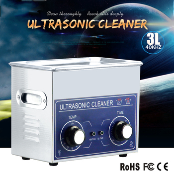 3 L new ultrasound cleaner (with timer and heater) for lens cleaning like camera lens,dvd lens and laser lens.discount and OEM.
