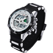 WEIDE WH1104 Watch Men Luxury Brand Sports Watch Relogio Masculino Military LCD Luminous Analog Digital Display