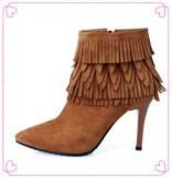 Женские ботинки 34/43 SM-C83