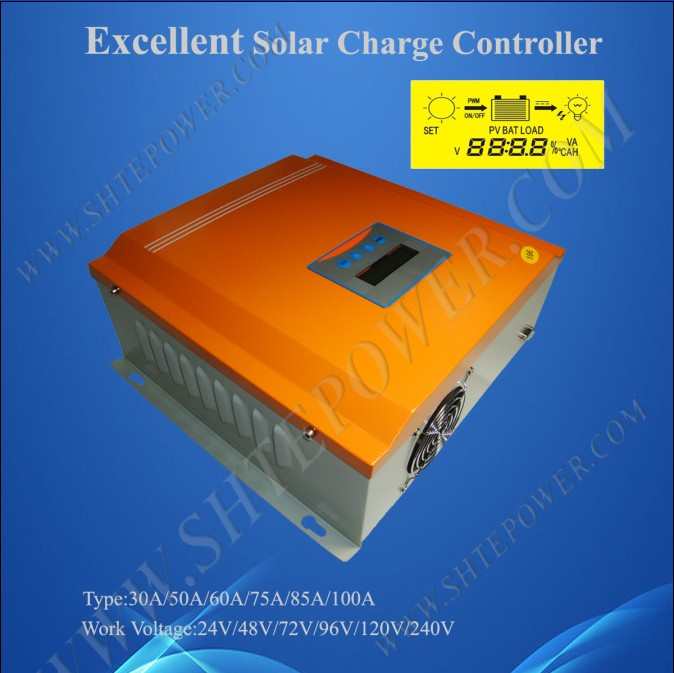 High Efficiency 240V 100A Solar PWM Charge Controller(China (Mainland))