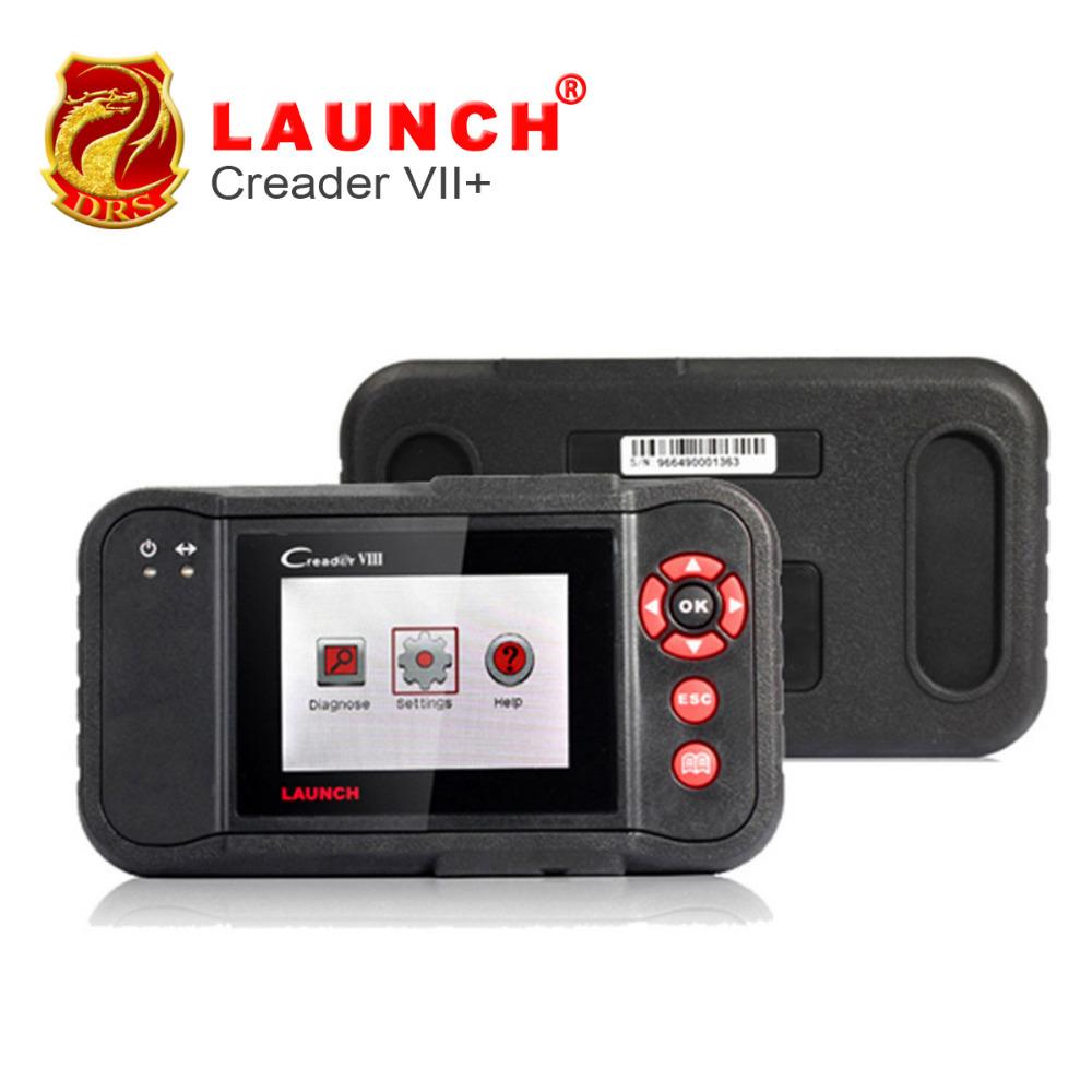 Newest Launch Creader VII+ Auto Code Reader Launch X431 Creader VII Plus Engine ABS SRS Braking System Auto Scanner Creader 7+(China (Mainland))