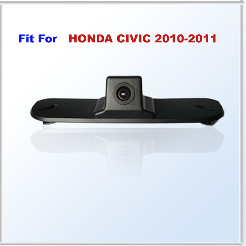 Wire waterproof Car Rear View Backup Camera FIT FOR HONDA CIVIC Waterproof IP67 + Wide Angle 170 Degrees + CCD(China (Mainland))