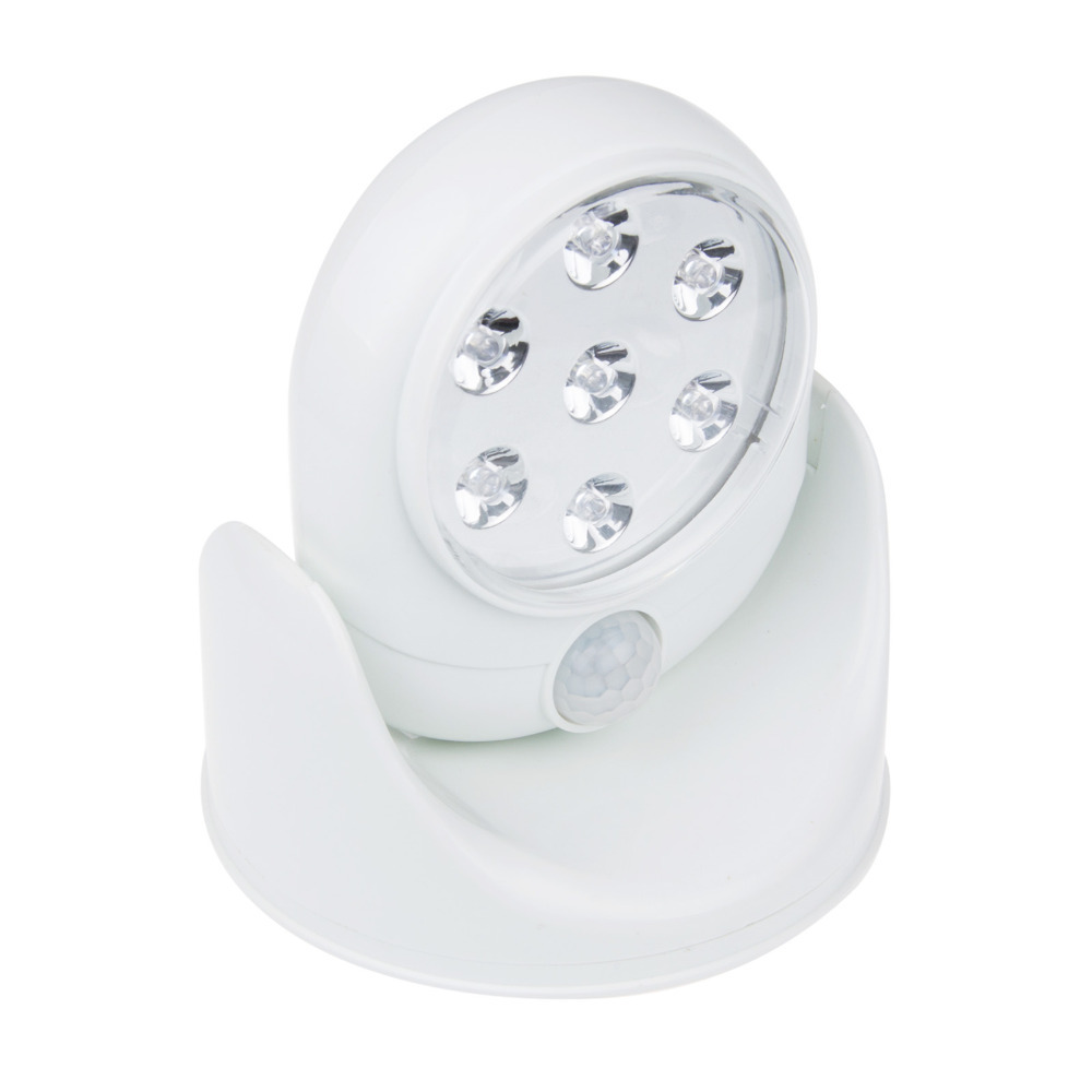 White Indoor Outdoor Lighting Motion Activated Sensor Cordless Emergency Ligh