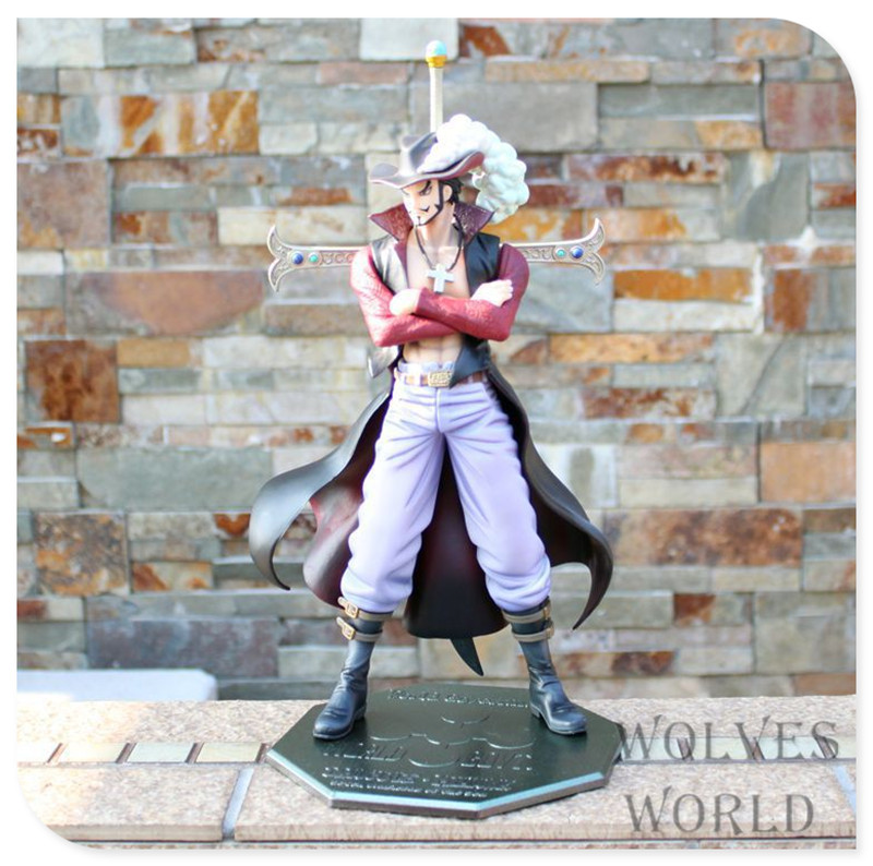 Japan One Piece New World  Anime Figuarts Zero  Mihawk Action Figure PVC Boxed Model 10th Anniversary Limited Edition 0177<br><br>Aliexpress