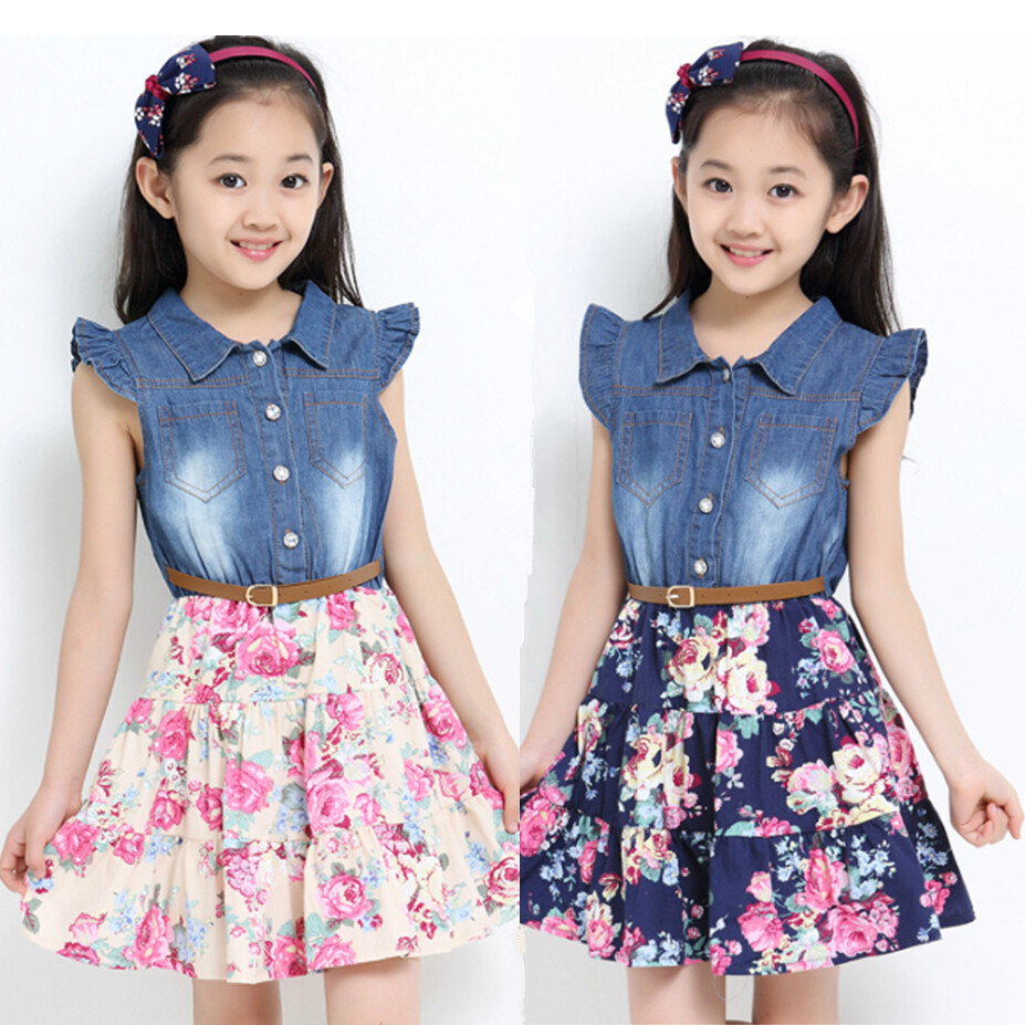 Girls Dress Size Guide: Our Size Chart lists general height and weight guidelines for girls dress sizes and we also included instructions on how to measure your child. Girls Undergarments: Add fullness, comfort and style to girls dresses with our slips and petticoats.