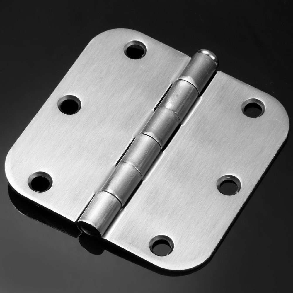 2016 New arrival High Quality Practical 3.5 inch 6 Holes Door Hinge With Iron Material Radius Corner With iron material - 2pcs(China (Mainland))