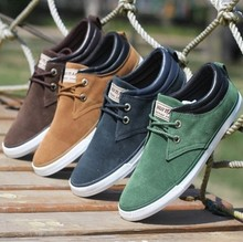 New Hot Fashion Low Style men Sneakers Canvas men's flats shoes men,Daily casual shoes Spring Autumn sneakers men shoes LSM058(China (Mainland))