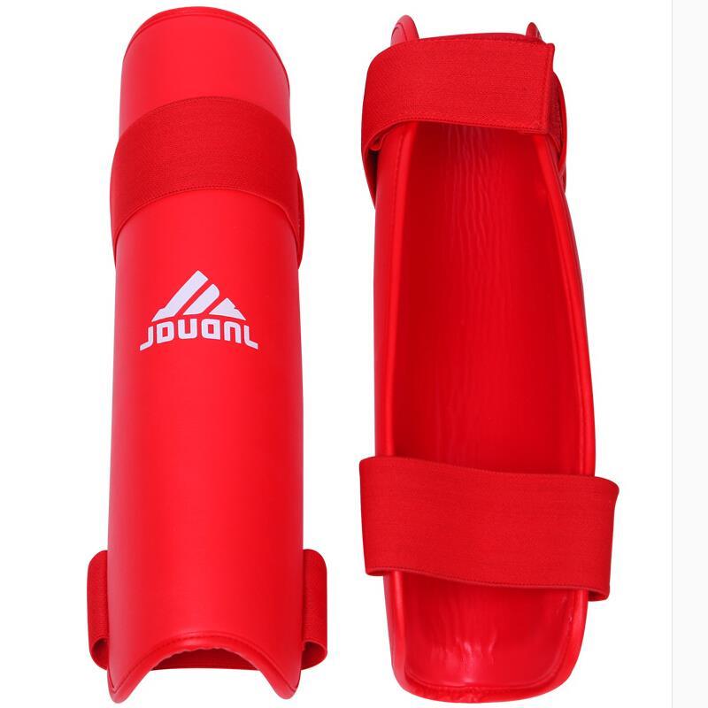Blue Red Black MMA Shin Guard Taekwondo Legs Protector Caneleira Sparring/Karate/Muay Thai/Wushu/Boxing GYM Training Equipment(China (Mainland))