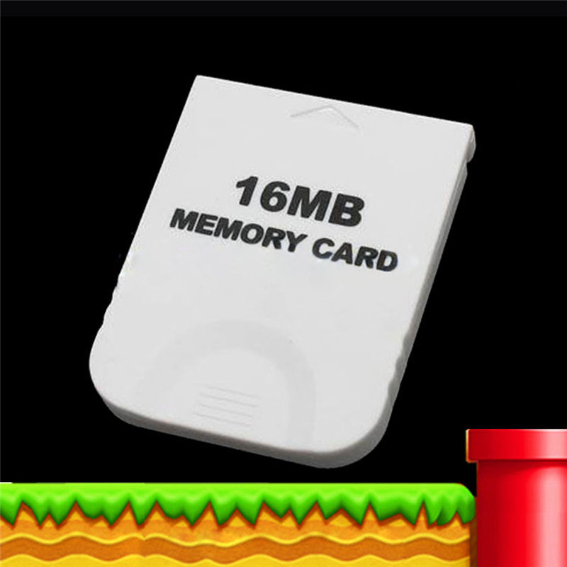 Practical White Memory Card For Nintendo Wii Gamecube GC Game 16MB 16M(China (Mainland))