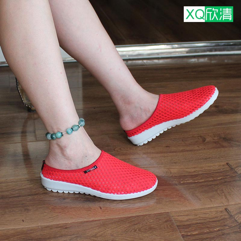 Women Sandals 2015 New Summer Style Shoes Flats Mesh Slippers Soft Casual Wedge Sneakers Fashion Breathable - XQ_Astore store