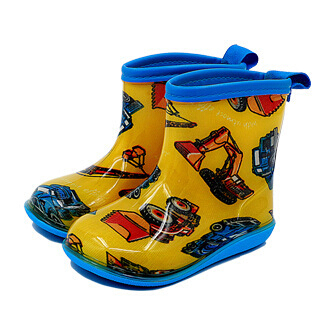 Free shipping Children's Rain Boots cute cartoon Boys and Girls slip Baby shoes, overshoes Water shoes for Children Rubber Shoes(China (Mainland))