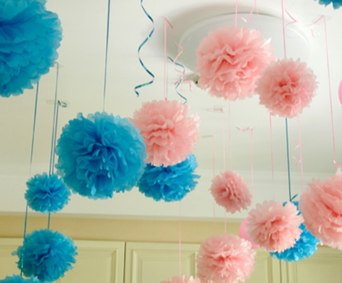 Wholesale 30pcs 14inch 35cm diy paper flowers ball wedding new homes birthday party car decoration tissue