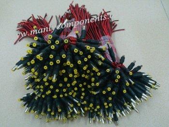500pcs  5.5*2.1mm Male Plug 12V DC Cable Power Pigtail Cable