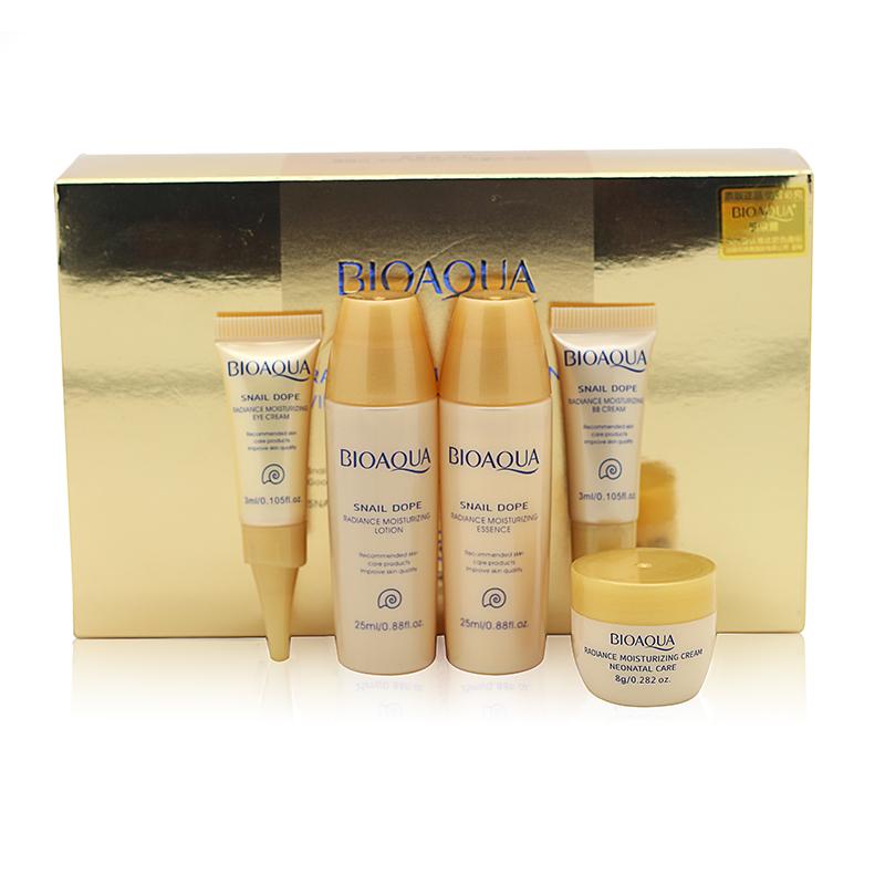 2015 New 5pcs Skin Care Set Whitening Moisturizing Essence Lotion Eye Cream BB Creams Facial Acid Liquid Anti Wrinkle Day Cream<br><br>Aliexpress
