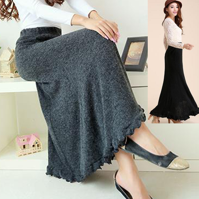 Compare Prices on Wool Skirt Long- Online Shopping/Buy Low Price ...