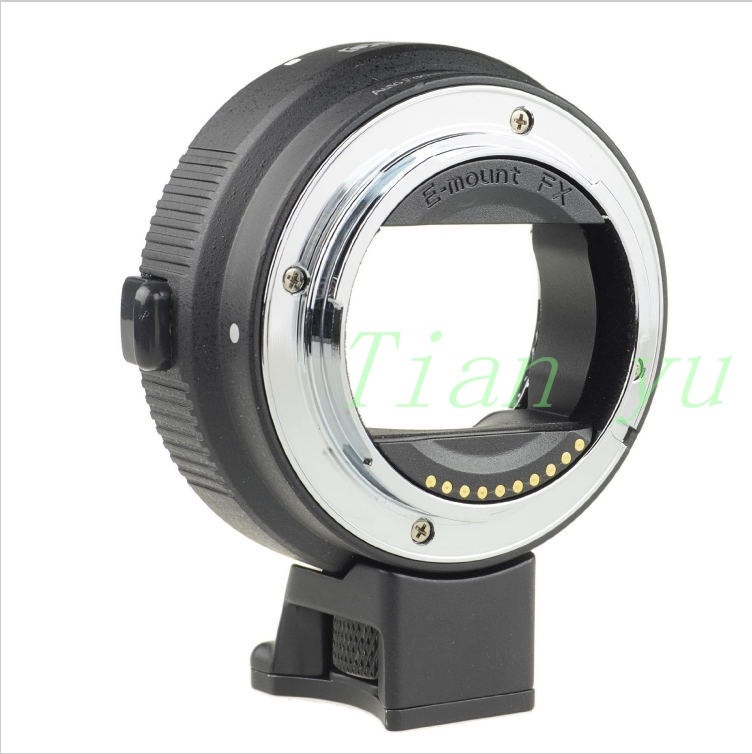 Free shipping Black Auto Mount Adapter EF-NEX for Sony NEX Series Cameras EF EF-S Mount<br><br>Aliexpress