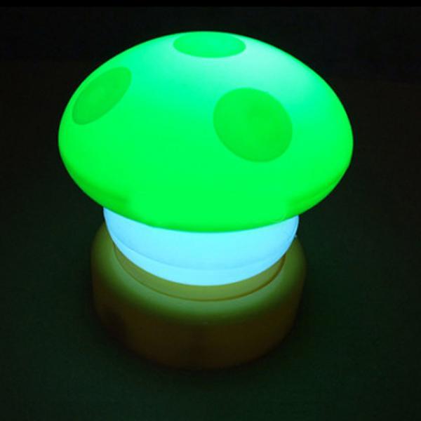 Fashion Cute Mini LED Mushroom Night Lamp Touch Light Berth Lamp(China (Mainland))