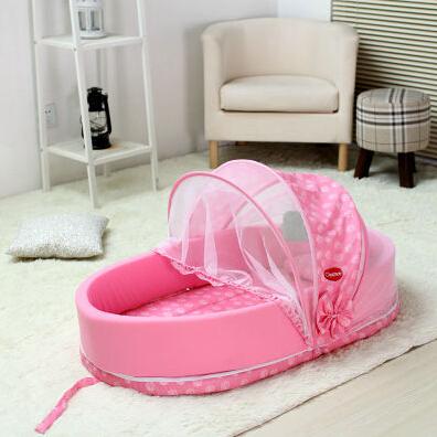 Bebé plegable multifuncional cama de moda cuna portátil ... - photo#4