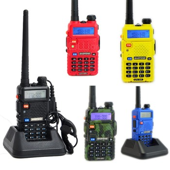 BaoFeng UV-5R Portable Radio Walkie Talkie 5W Dual Band 136-174Mhz & 400-520Mhz Two Way Radio Transceiver A0850A