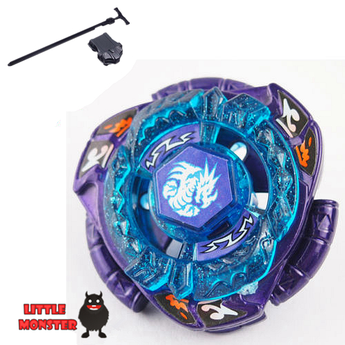 1pcs Beyblade Metal Fusion 4D set Omega Dragonis 85XF BB128 kids game toys children Christmas gift with launcher(China (Mainland))