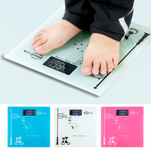 Buy Digital2017 Fashion Electronic Glass LCD Health Body Weighing Scale Home Scale 180kg weightinh Body Precision Scale Step for $27.13 in AliExpress store