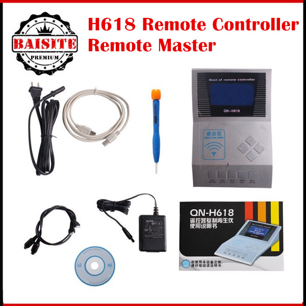 Hotsale H618 Remote Controller Remote Master For Wireless RF Remote Controller H618 Key Programmer remote controller for qn-h618(China (Mainland))