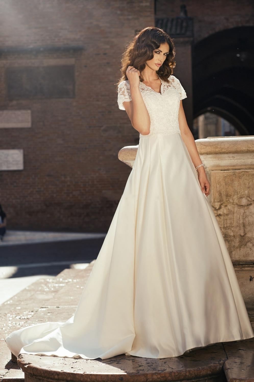 Buy best selling elegant vestido de noiva for Hawaiian wedding dresses with sleeves