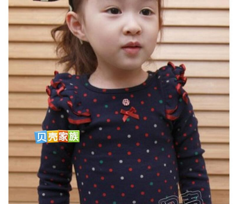 Baby Kids Cartoon Cat Print Long Sleeve T Shirt Toddler Clothes Baby Girls Clothing Casual Blouse Tops Children's Clothing