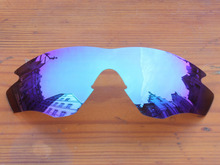 Polycarbonate-Ice Blue Mirror Replacement Lenses For M2 Frame Sunglasses Frame 100% UVA & UVB Protection