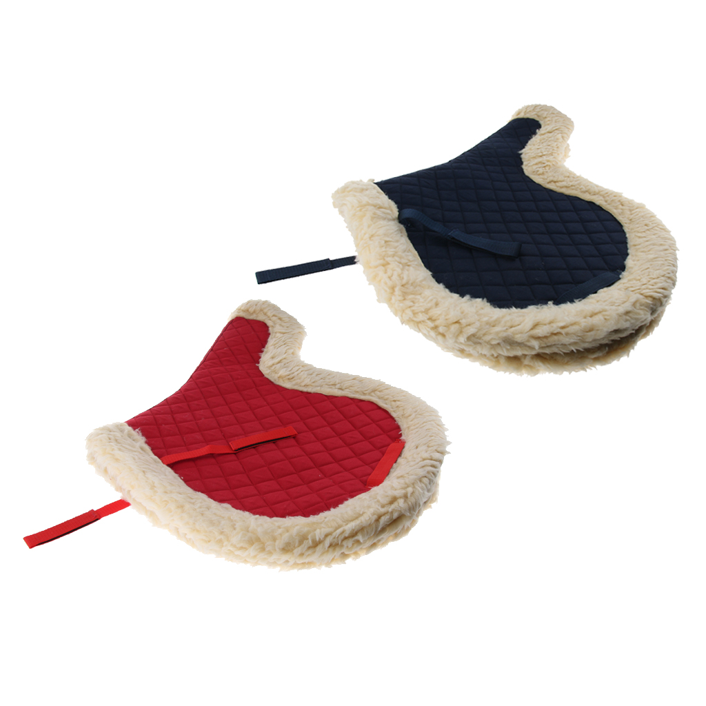 Polyester Western English Horse Pony Saddle Pad All Purpose Cover
