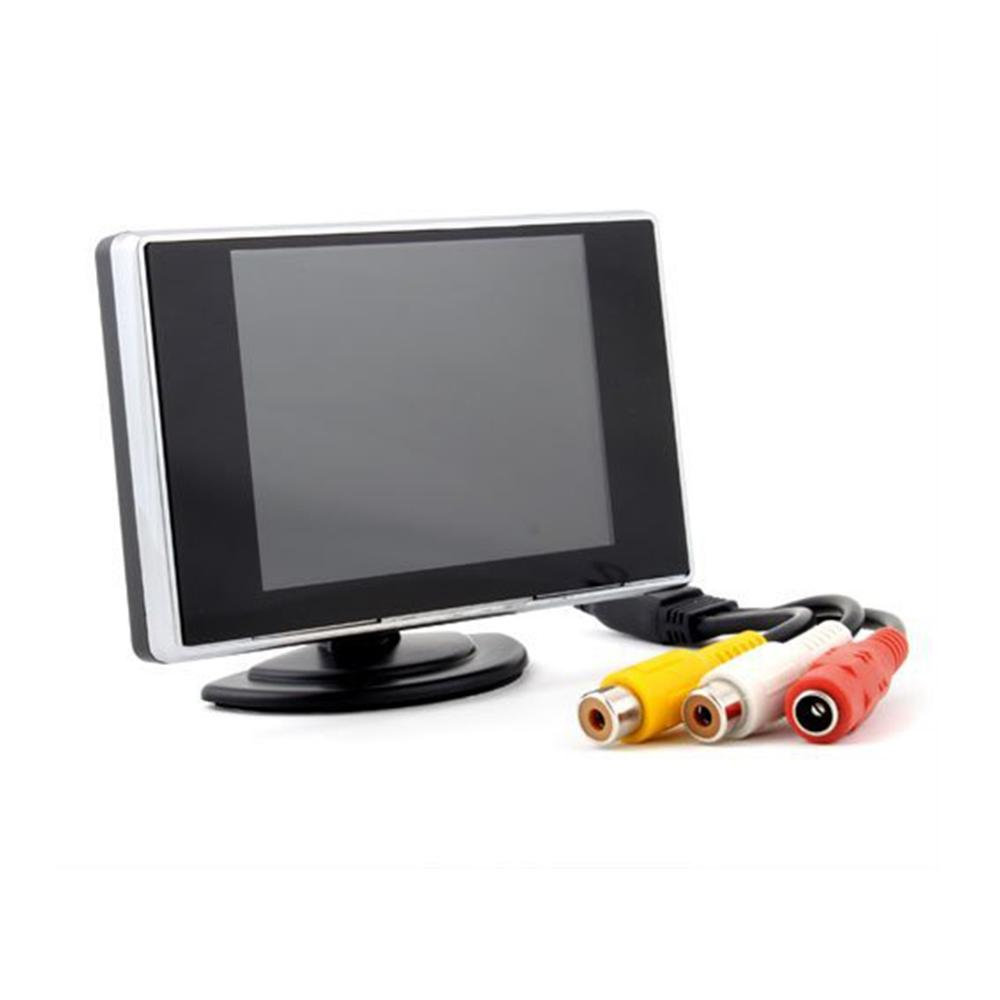 3.5'' Car DVD Screens Reverse Monitor 3.5 Inch Display Digital Rearview Screen Car Parking Mirror for Car Camera