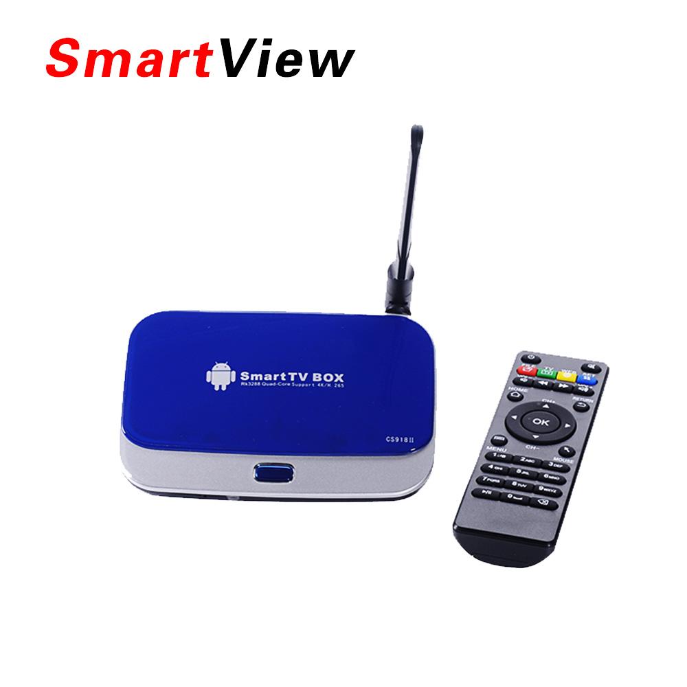 Original CS918II Android TV Box RK3288 Quad Core IPTV Smart TV XBMC 1.8GHz 2G/16G H.265 Dual WiFi OTG Optical Media Player(China (Mainland))