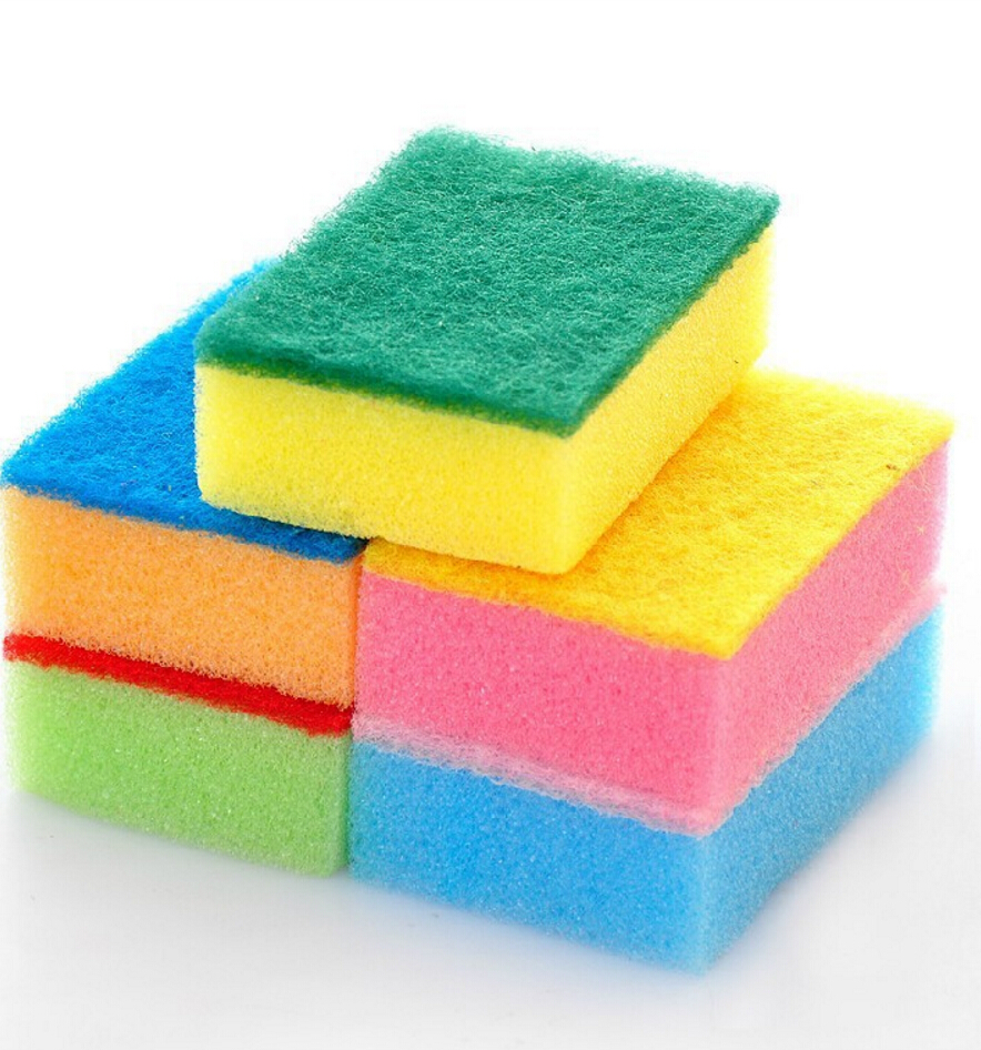 Sponge Cleaner Kitchen Tools Washing Dishes Or Ceramic