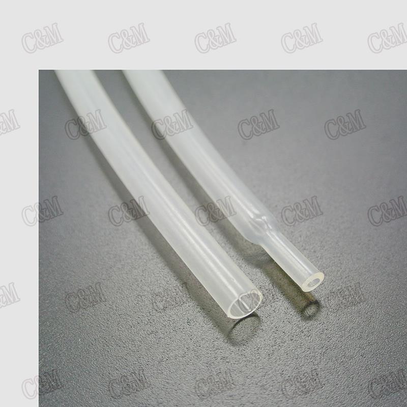 Transparent 3MM Heat Shrinkable Tube 3mm Inner Diameter Insulation Shrink Tubing (5Meter/Lot) - M & C store