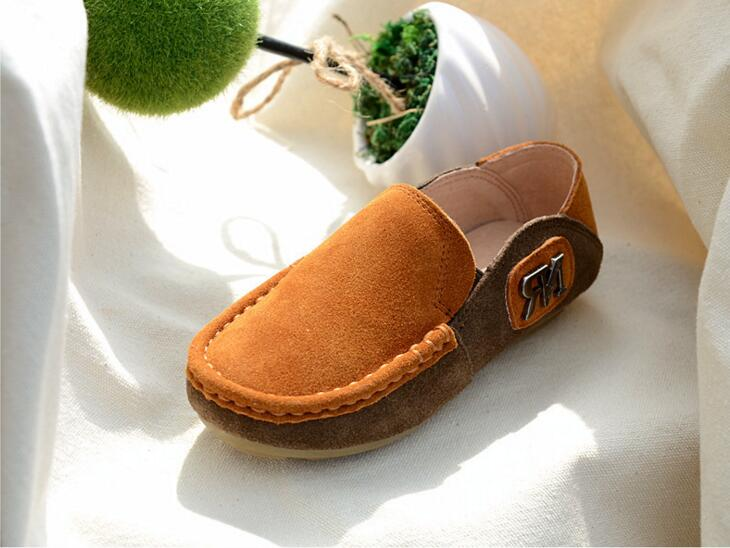 2016 Spring Eur21-35 Super Quality Chaussure Enfant Children Genuine  Leather Male Kids Shoes, Boy Baby Leisure Shoes . - us310