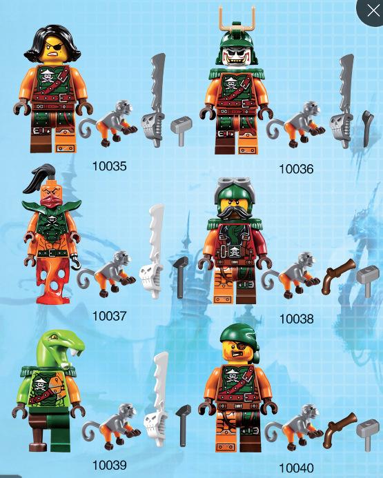 2016 Apr.new arrival Decool The Caribbean Pirates Ninja Minifigures Building Blocks Bricks Model Toys Action Figures(China (Mainland))