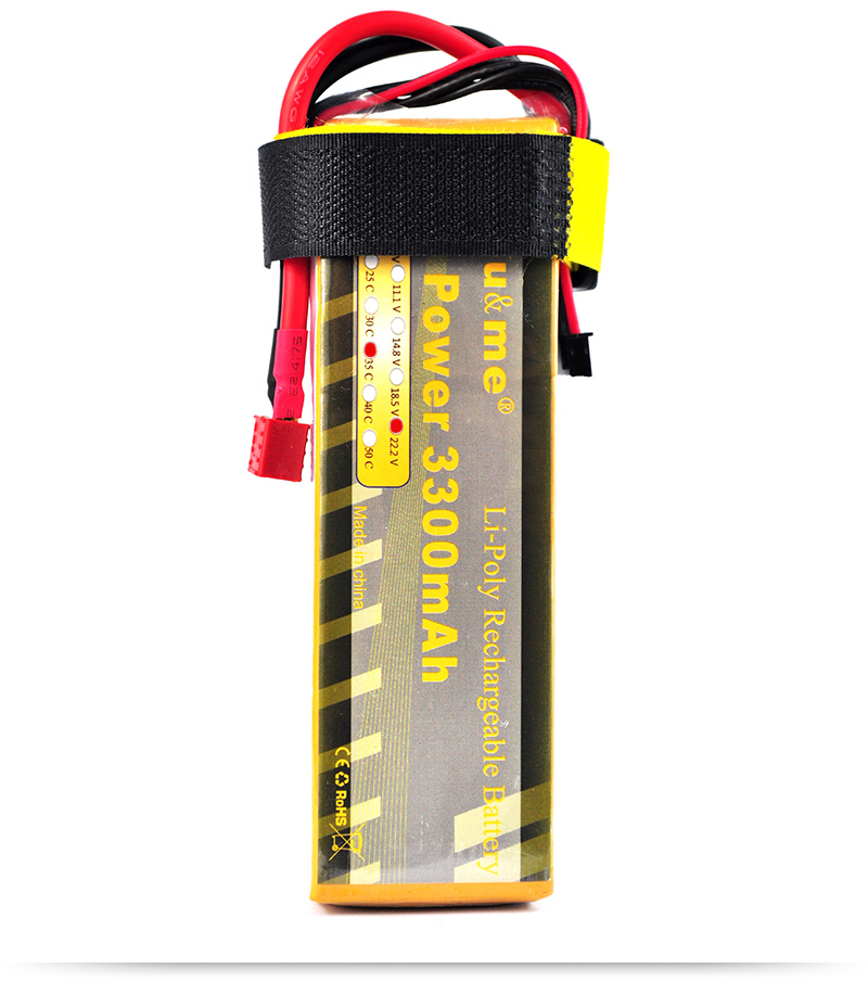 FreeShipping You&amp;me 22.2V 3300MAH 35C MAX 55C AKKU LiPo RC Battery For Trex 500 Helicopter 6S<br><br>Aliexpress