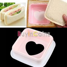 New Convenient Heart Shape Sandwich Mold Bread Toast Cake Mold Maker Cutter DIY Kitchen Cooking Tools US AS #23282 (China (Mainland))